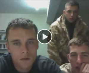 Straight Army Guys Get Naked on Webcam