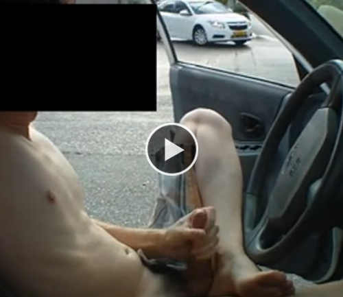 They Guys jerking off in car-porn they are