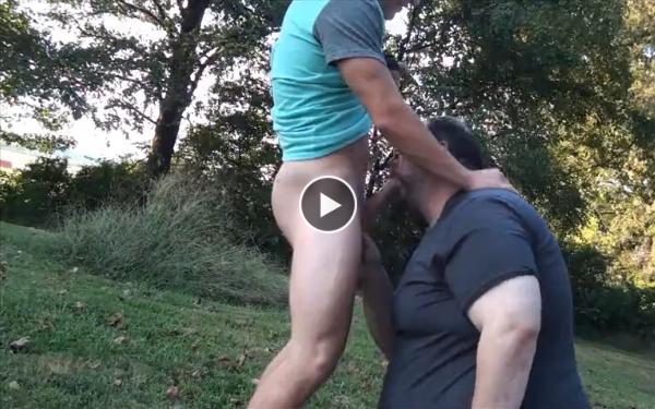 Sucking off a 22yo