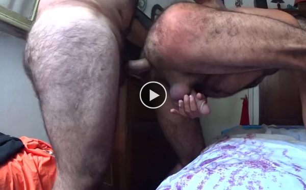 Hairy guys sex
