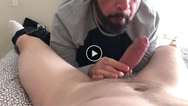 Uncut gay sucking dick photo
