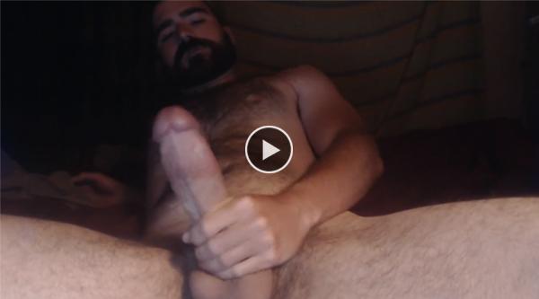 Shemale masturberen grote lul
